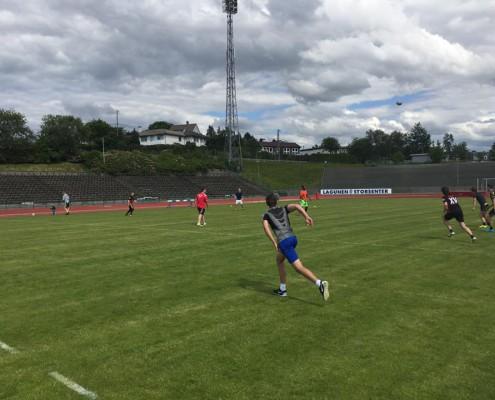 U18-landslaget har vært samlet både i Horten og i Bergen for å forberede seg til EM i september
